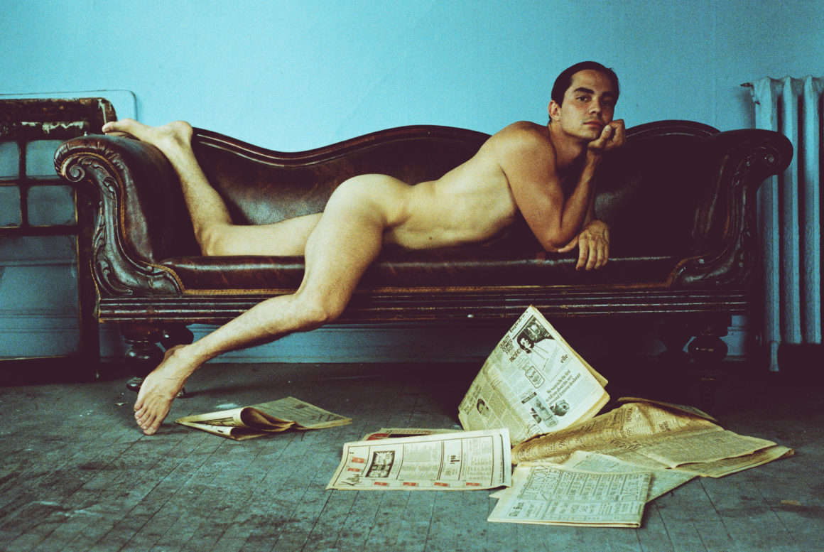 Part 6 of 18 DAVID is an experimental photography series depicting various compositions with the same male model over time by photographer and visual artist Dina Goldstein