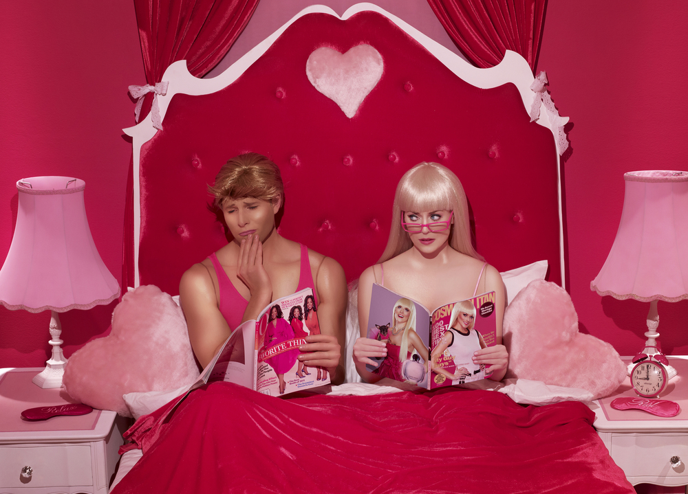 Part 1 of 10 In The Dollhouse by artist Dina Goldstein exposes the personal lives of Barbie and Ken dolls within a 10 part photography series.
