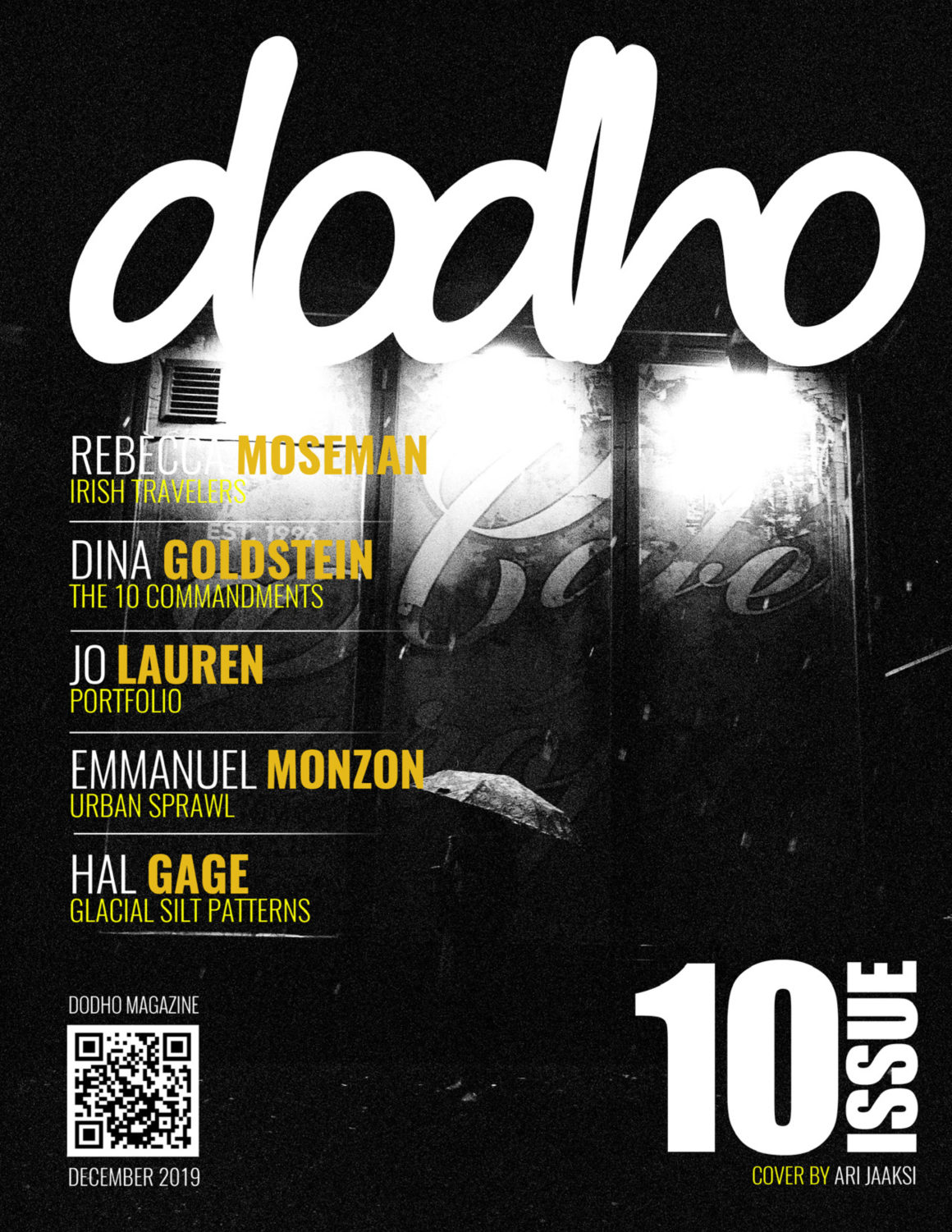 Doho magazine cover featuring the work of Dina Goldstein