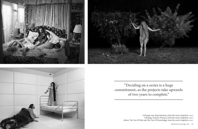 Dina Goldstein Feature in FotoNostum Magazine
