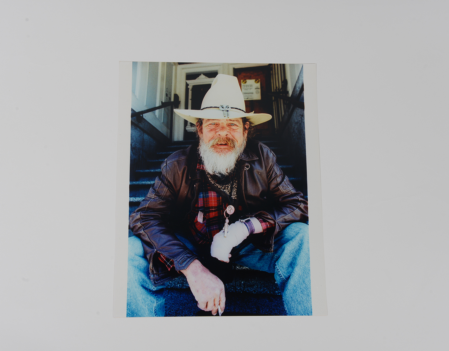 Cowboy on Stairs_Portrait_1991_93