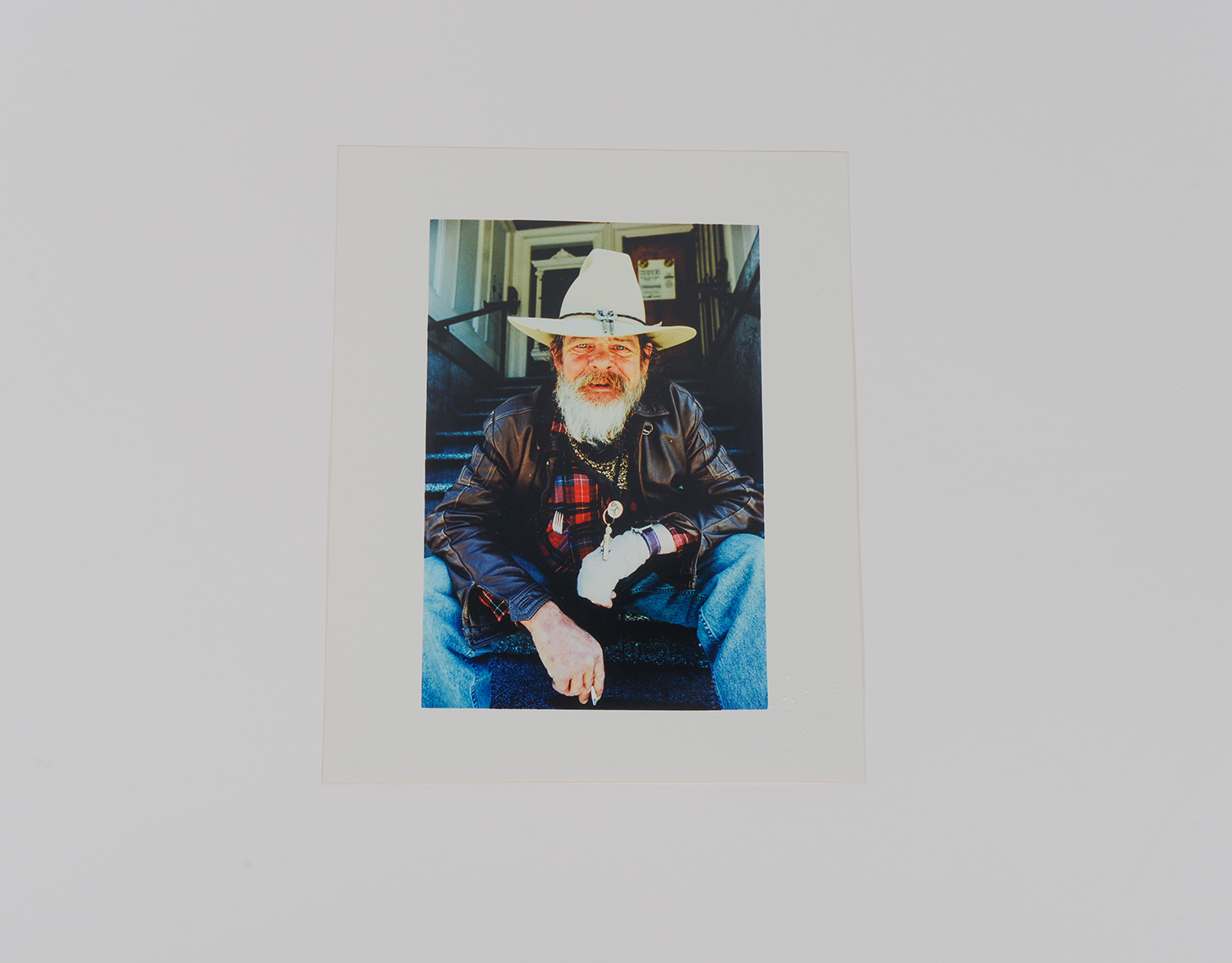 Cowboy on Stairs_Portrait_1991_94
