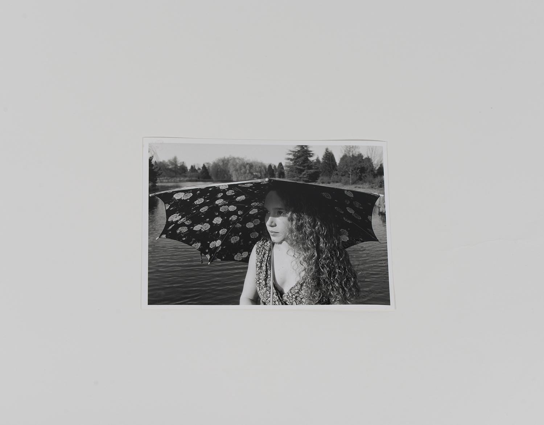 Jennifer Copping Umbrella at Lake_Portraits_1991_445