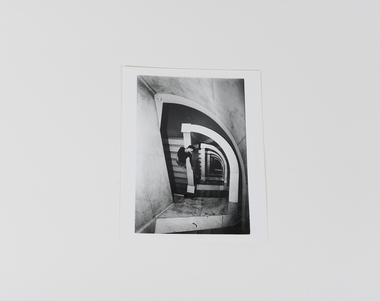 Maraliza on Staircase_Portraits_1992_506