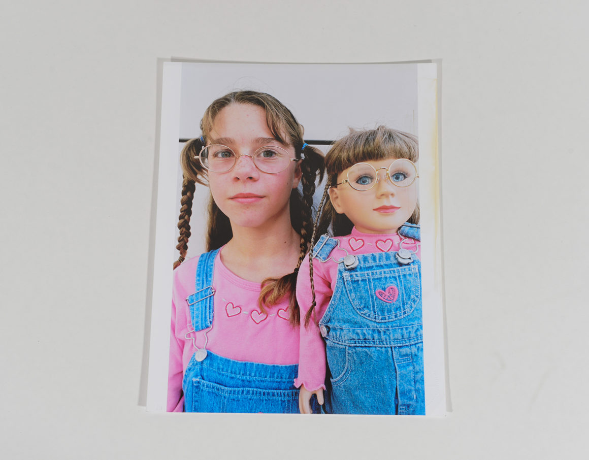 Girl with My American Doll_Portraits_2000_113
