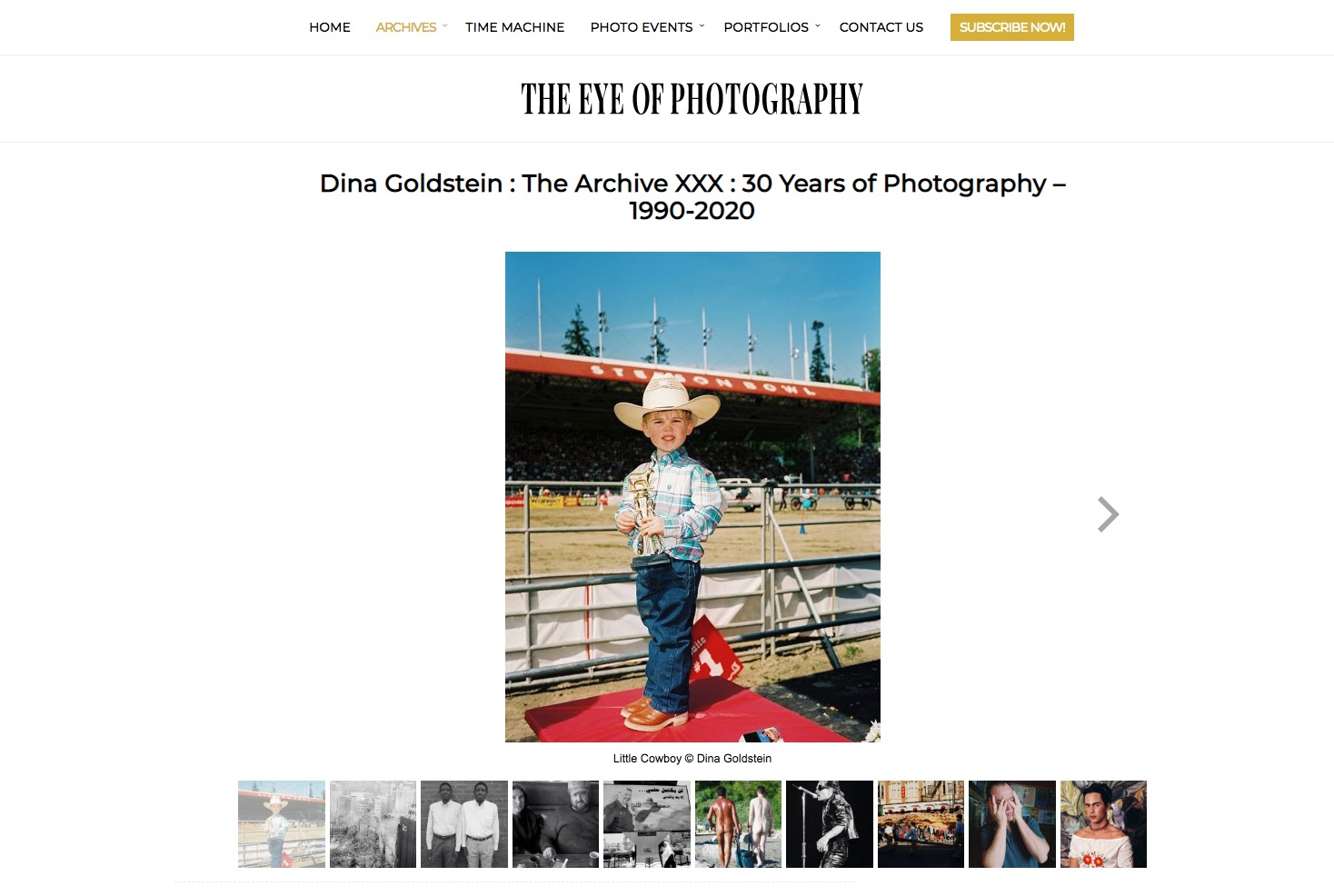 The Eye Of Photography on Dina Goldstein Archive XXX
